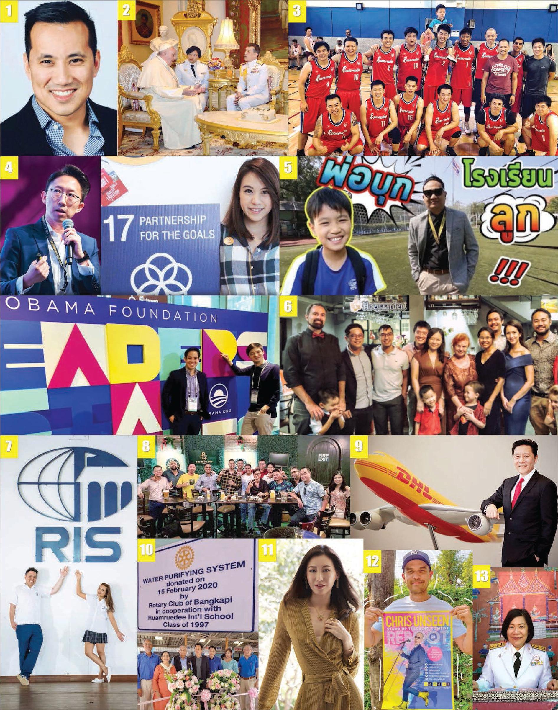 Alumni News Roundup, Ruamrudee International School Bangkok, Thailand
