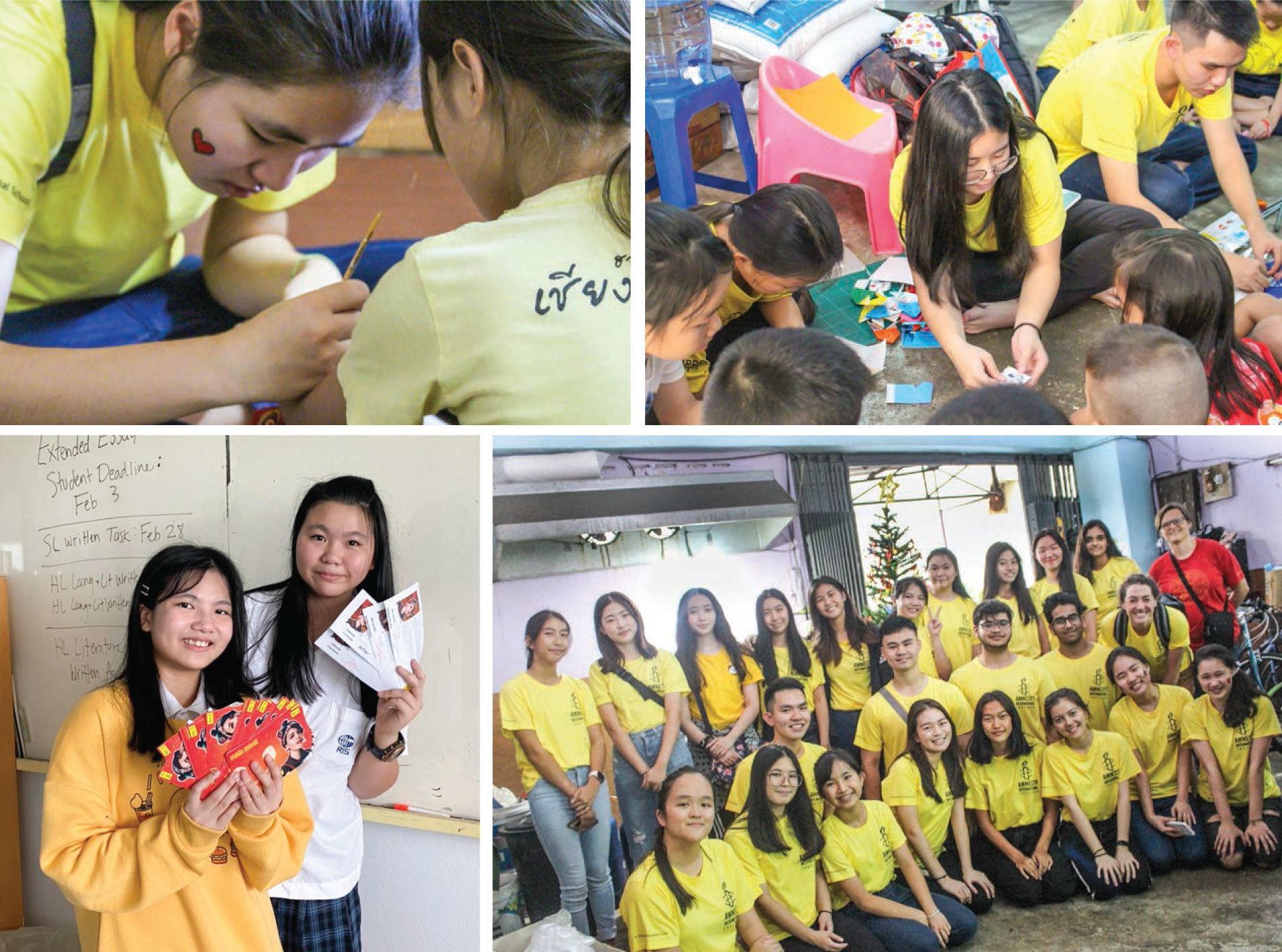 Amnesty International Club: Ordinary People, Extra Ordinary Changes, Ruamrudee International School Bangkok