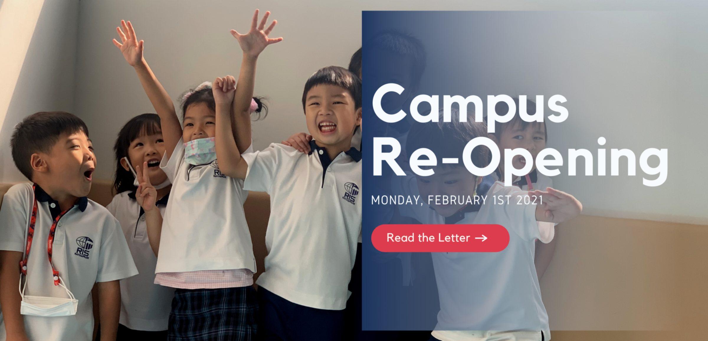 School Re-opens on Feb 1st