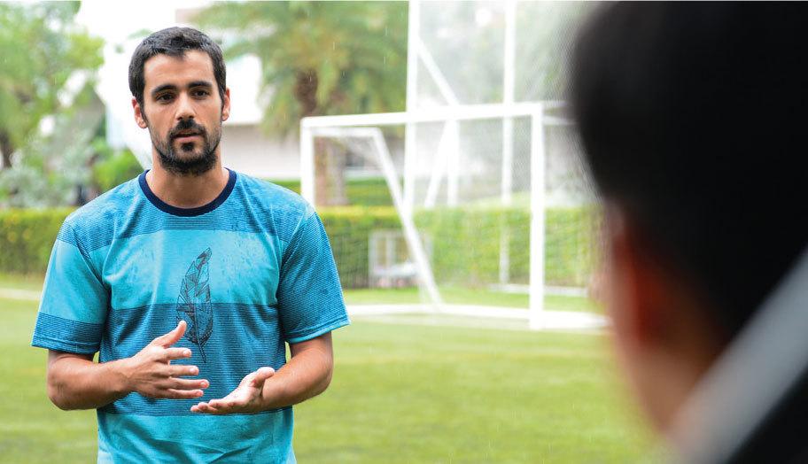 Ruamrudee International School Bangkok, David Footballer