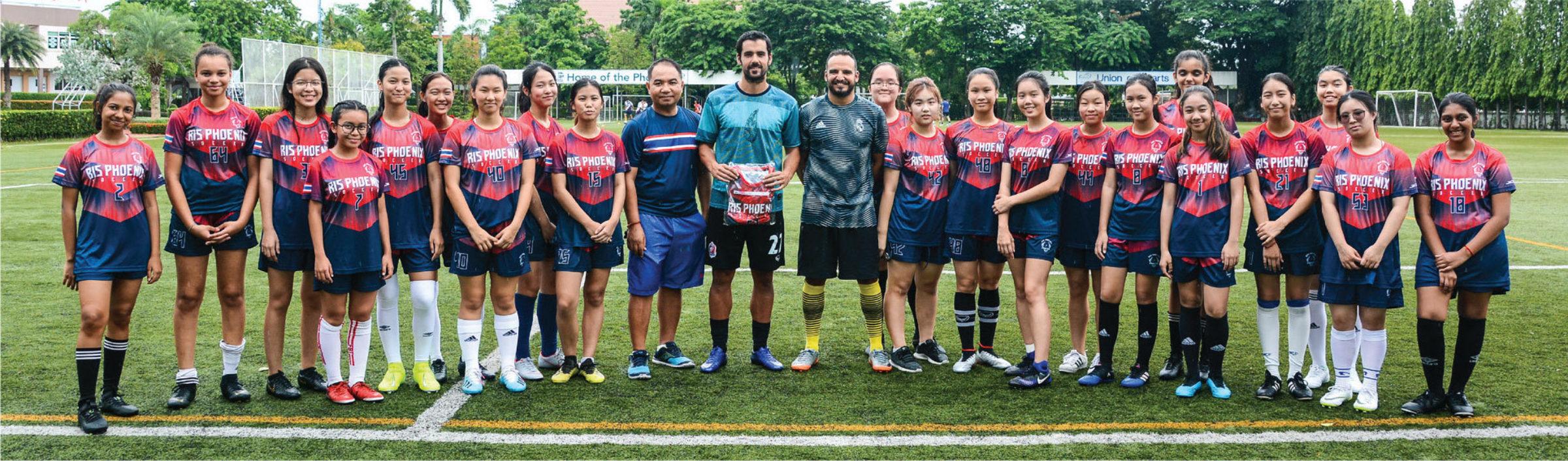 David Rochela: Professional Footballer Visits RIS!