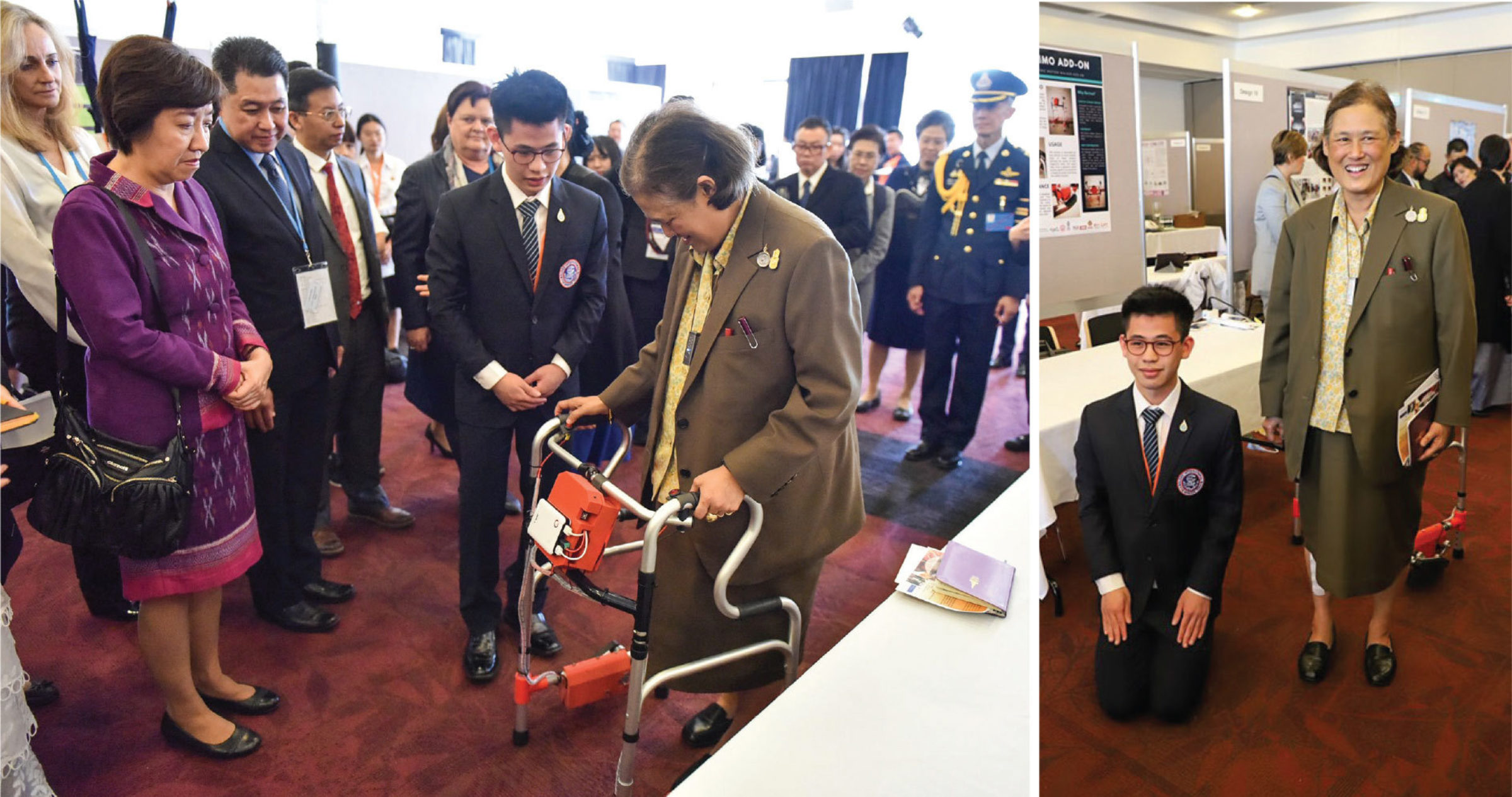 RIS Student Presents Invention to HRH Princess Sirindhorn