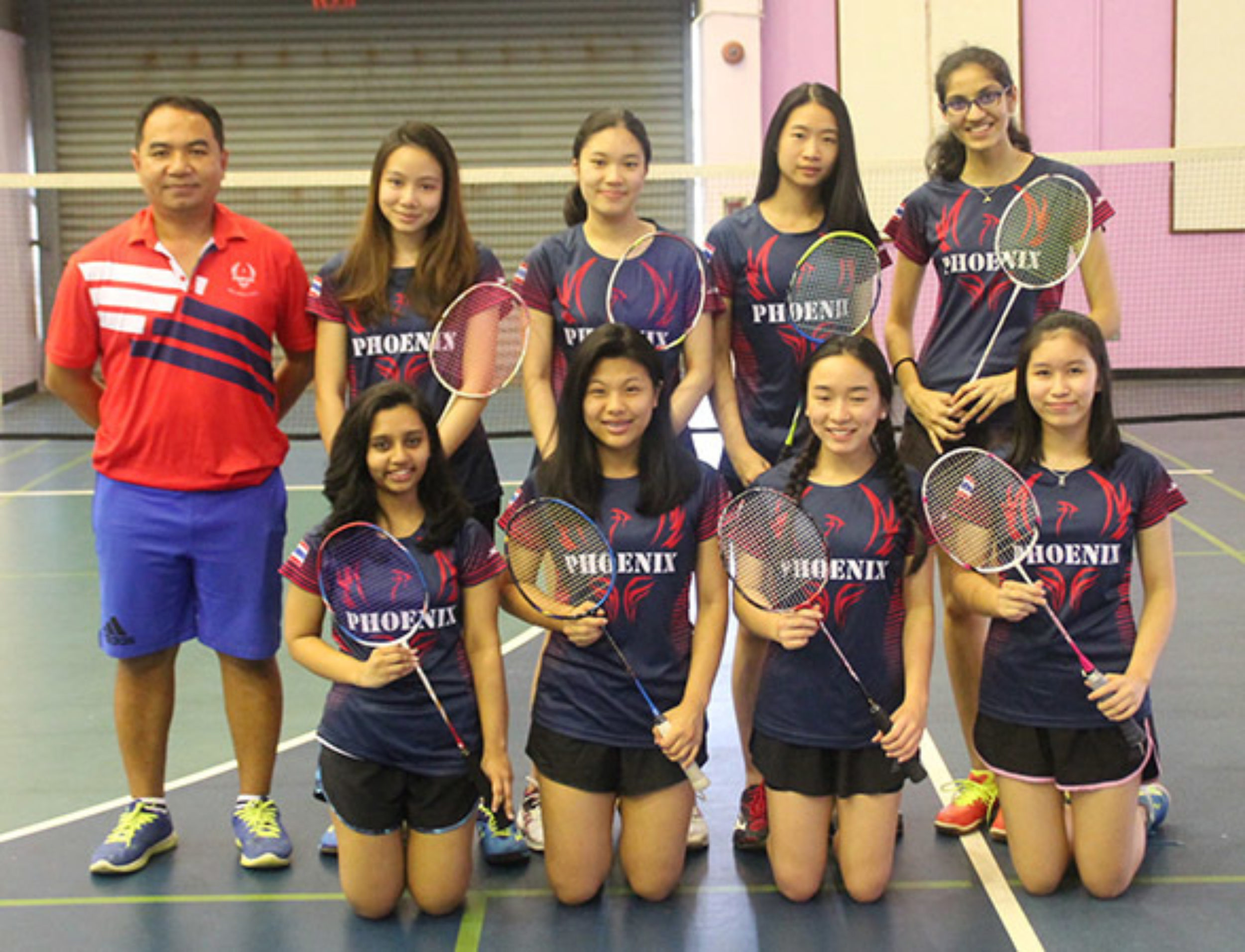 Varsity Girls Badminton