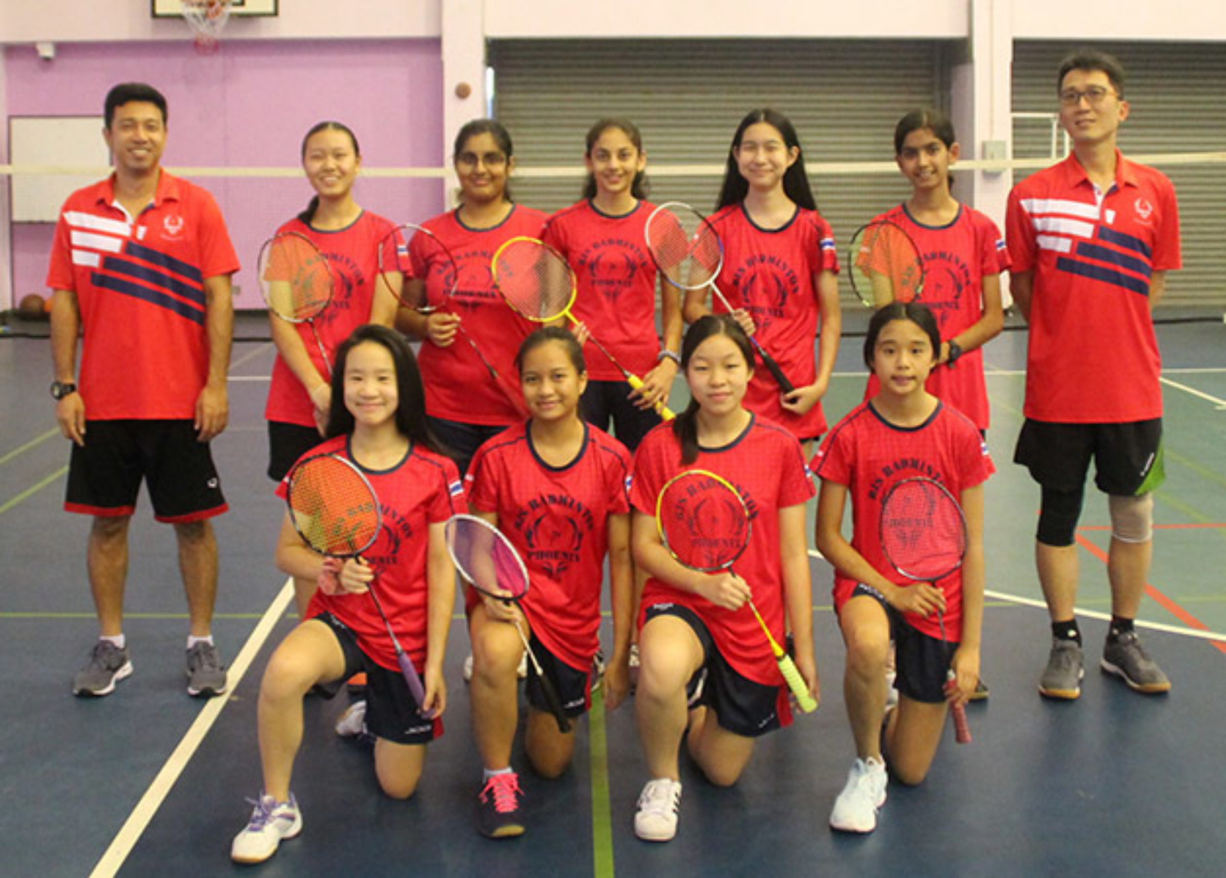 Jv Girls Badminton