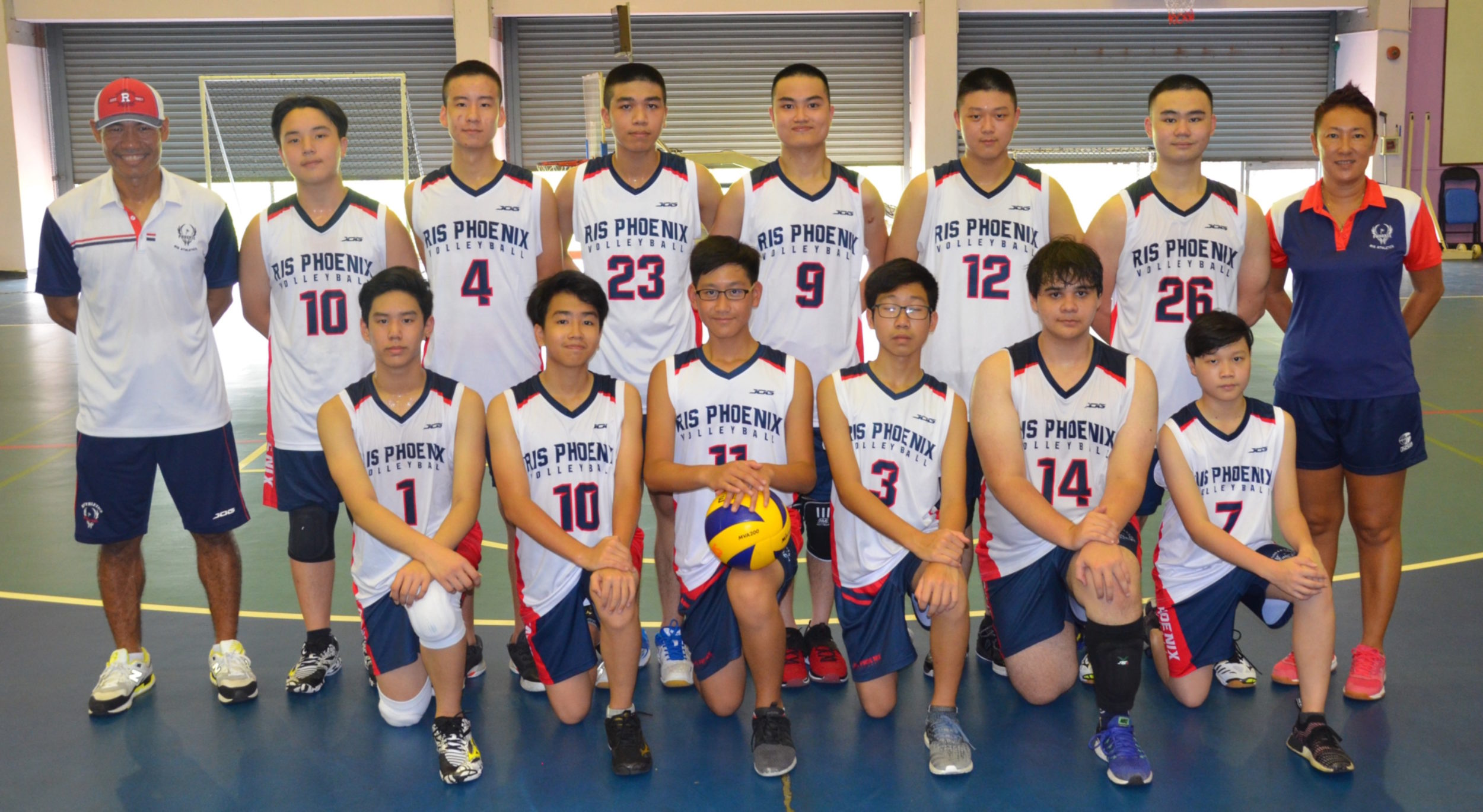 Ris Jv Boys Volleyball