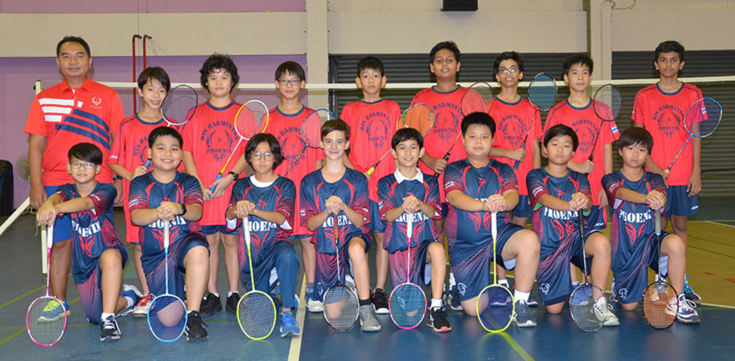 U13 Boys Badminton