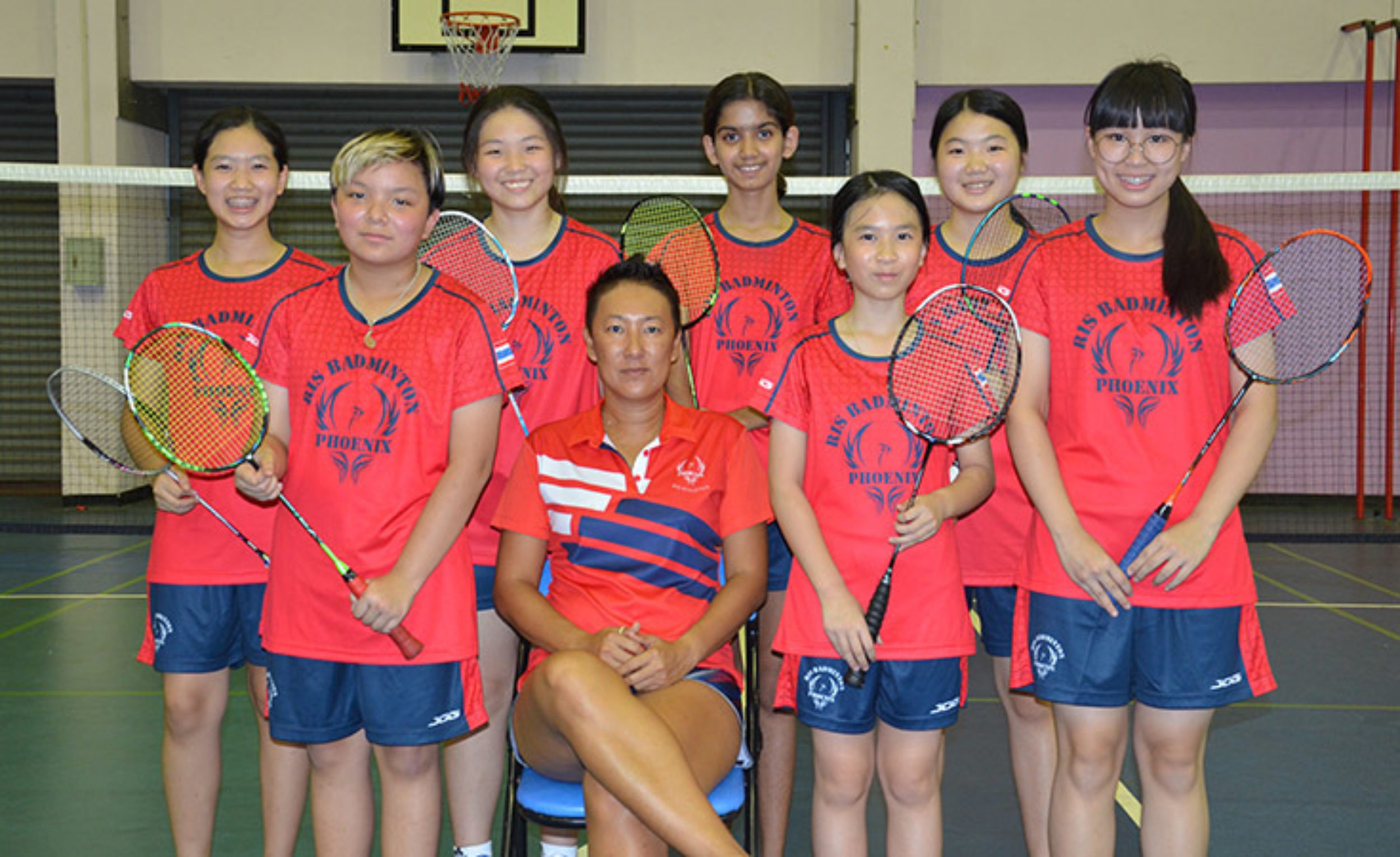 U13 Girls Badminton