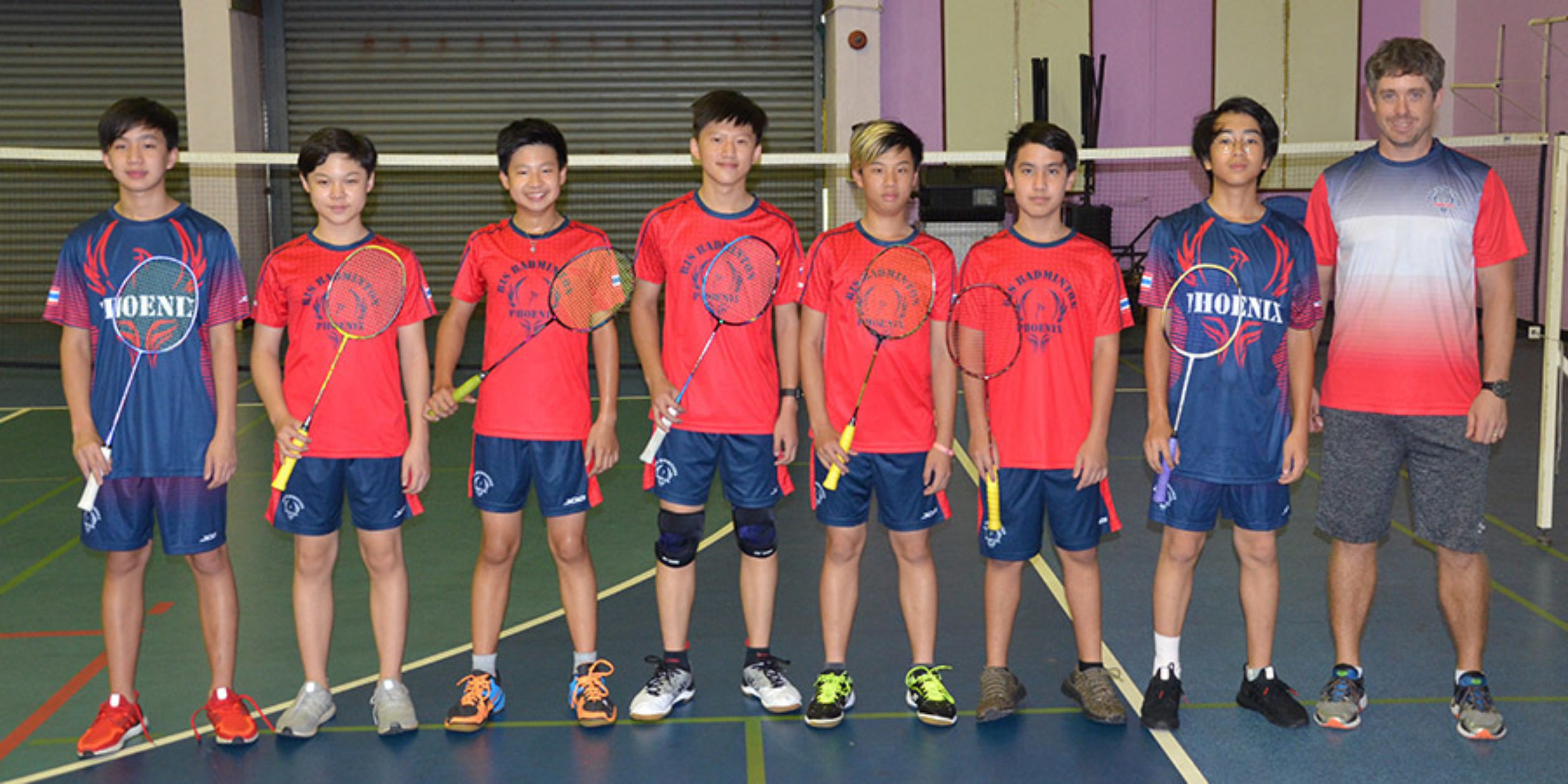 U15 Boys Badminton