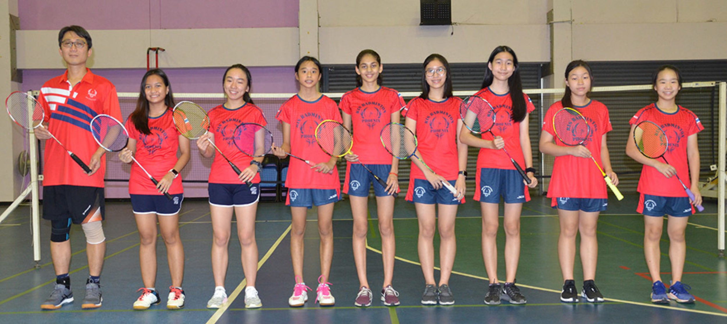 U15 Girls Badminton