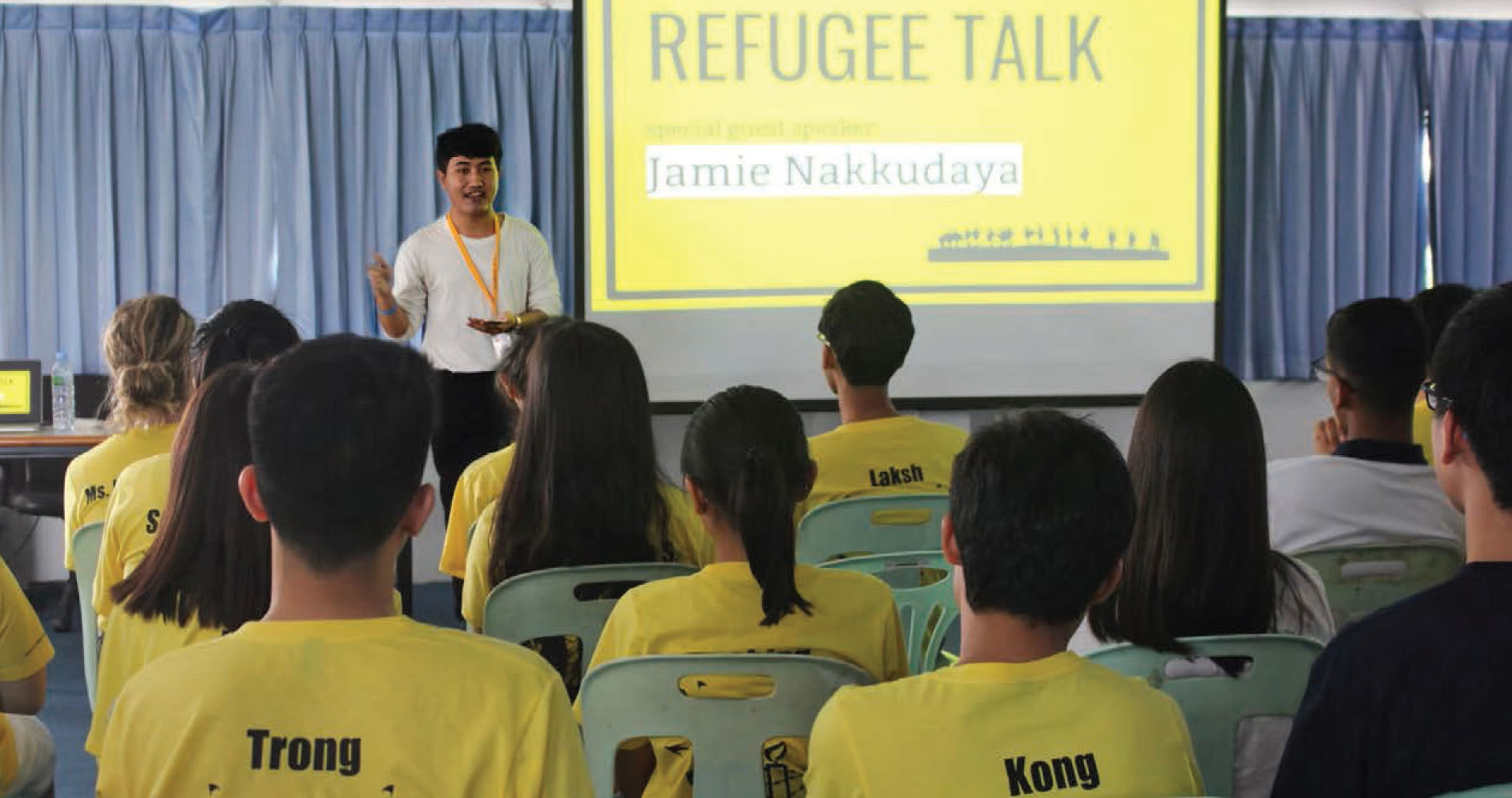 Amnesty International Club: Ordinary People, Extra Ordinary Changes, Ruamrudee International School Bangkok