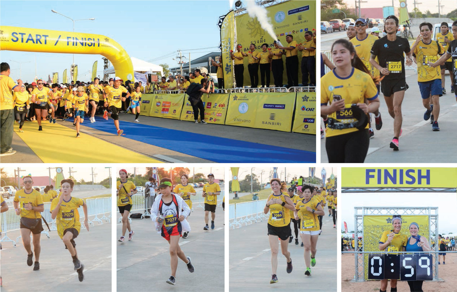 Ruang Phueng Bangkok Run with Toon Bodyslam, Ruamrudee International School Bangkok, Thailand