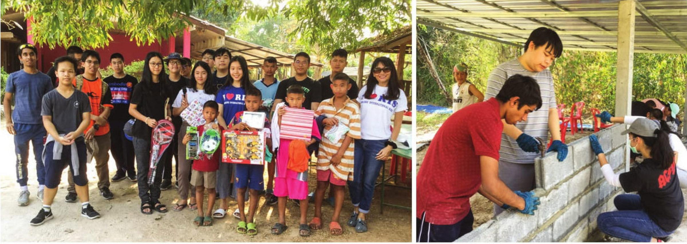 Lending a Helping Hand to Baan Nok Kamin in Uthai Thani