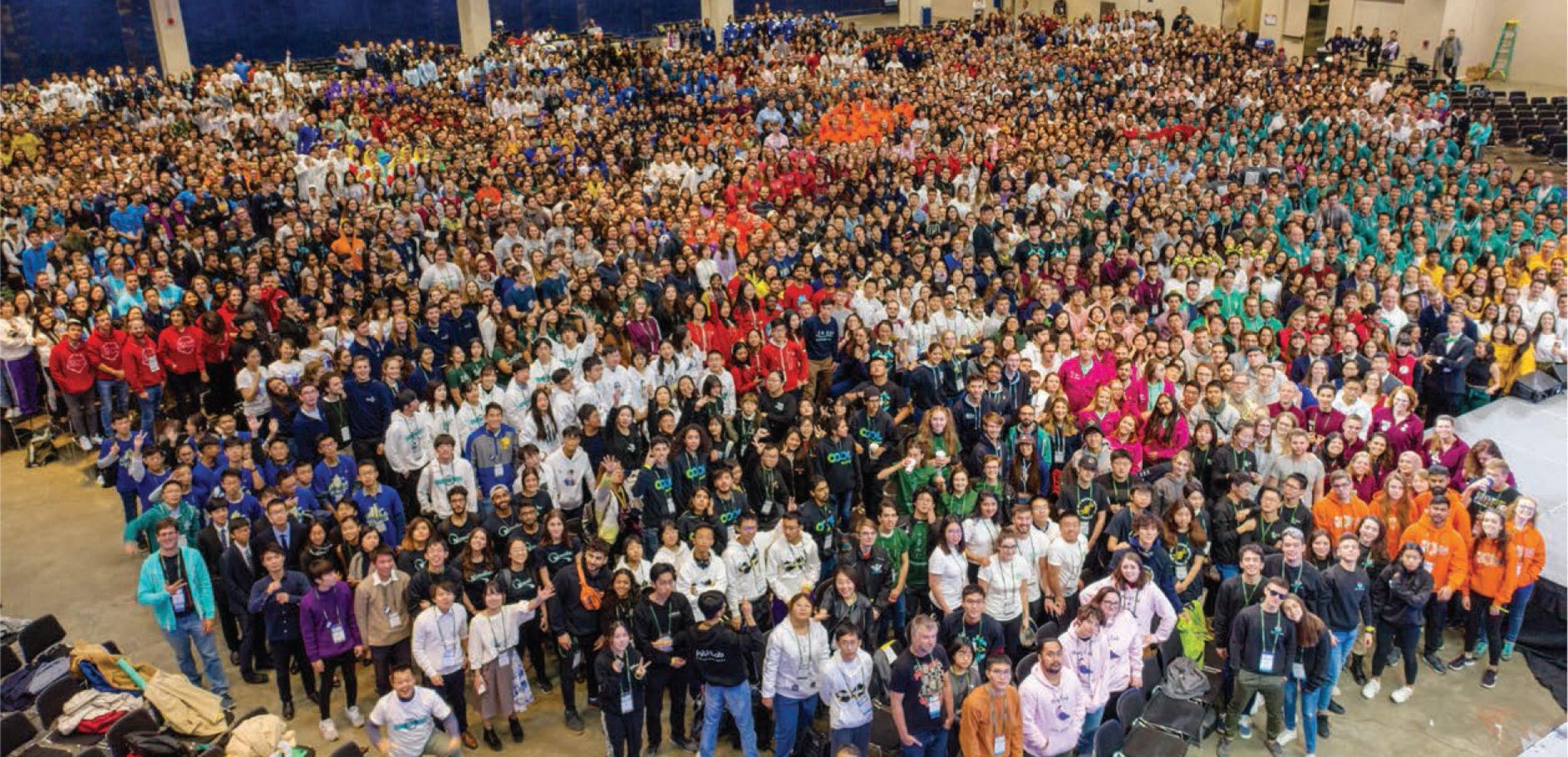 RIS iGEM Team Impress at the 2019 Giant Jamboree in Boston