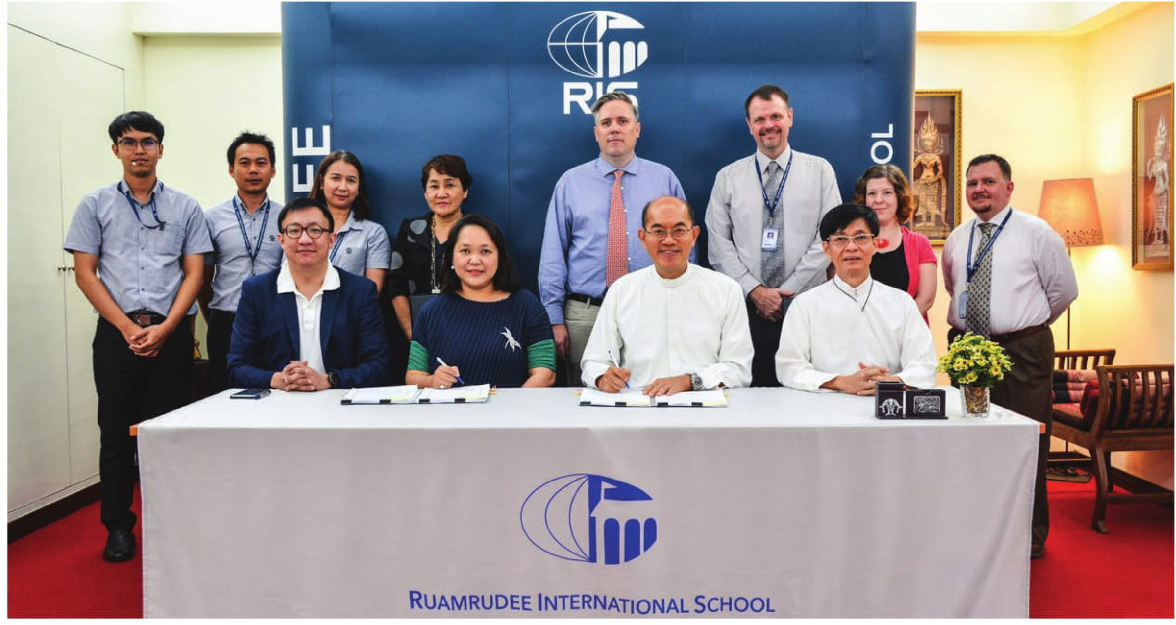 Ruamrudee International School Early Years Campus: Memorandum Of Understanding Signing Ceremony