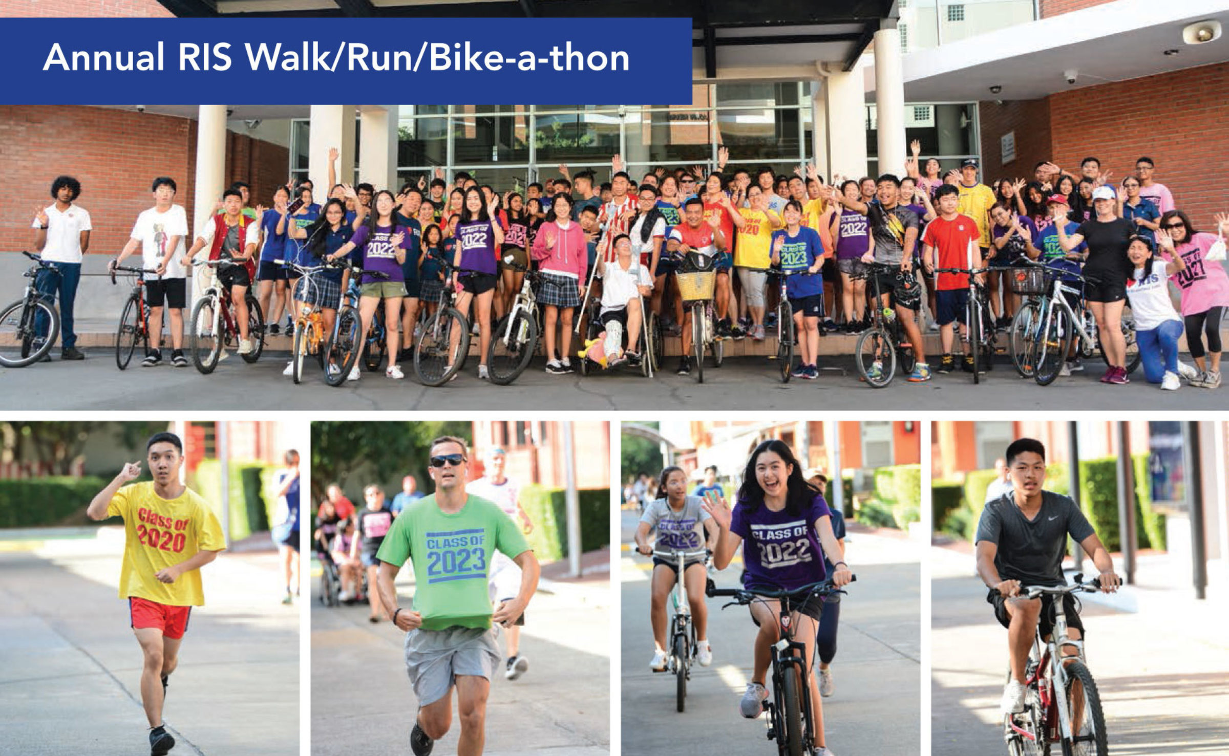 RIS Walk-a-thons and Other Fundraisers