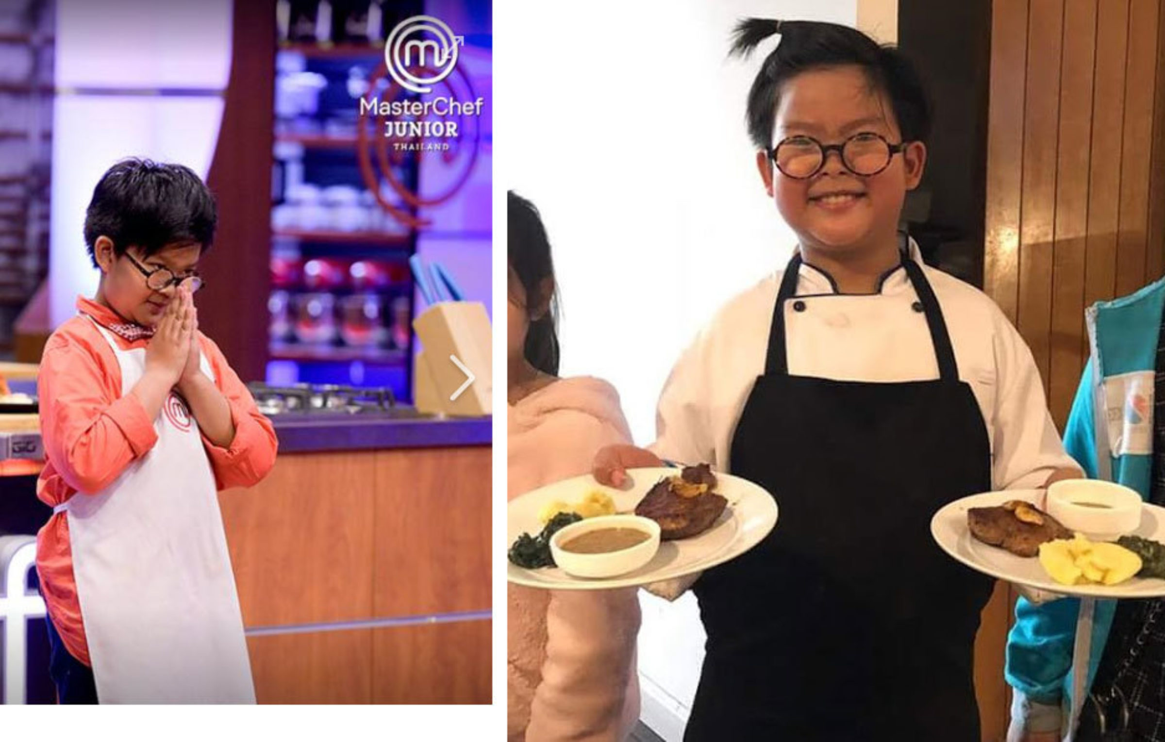 RIS 3rd Grader on MasterChef Junior Thailand