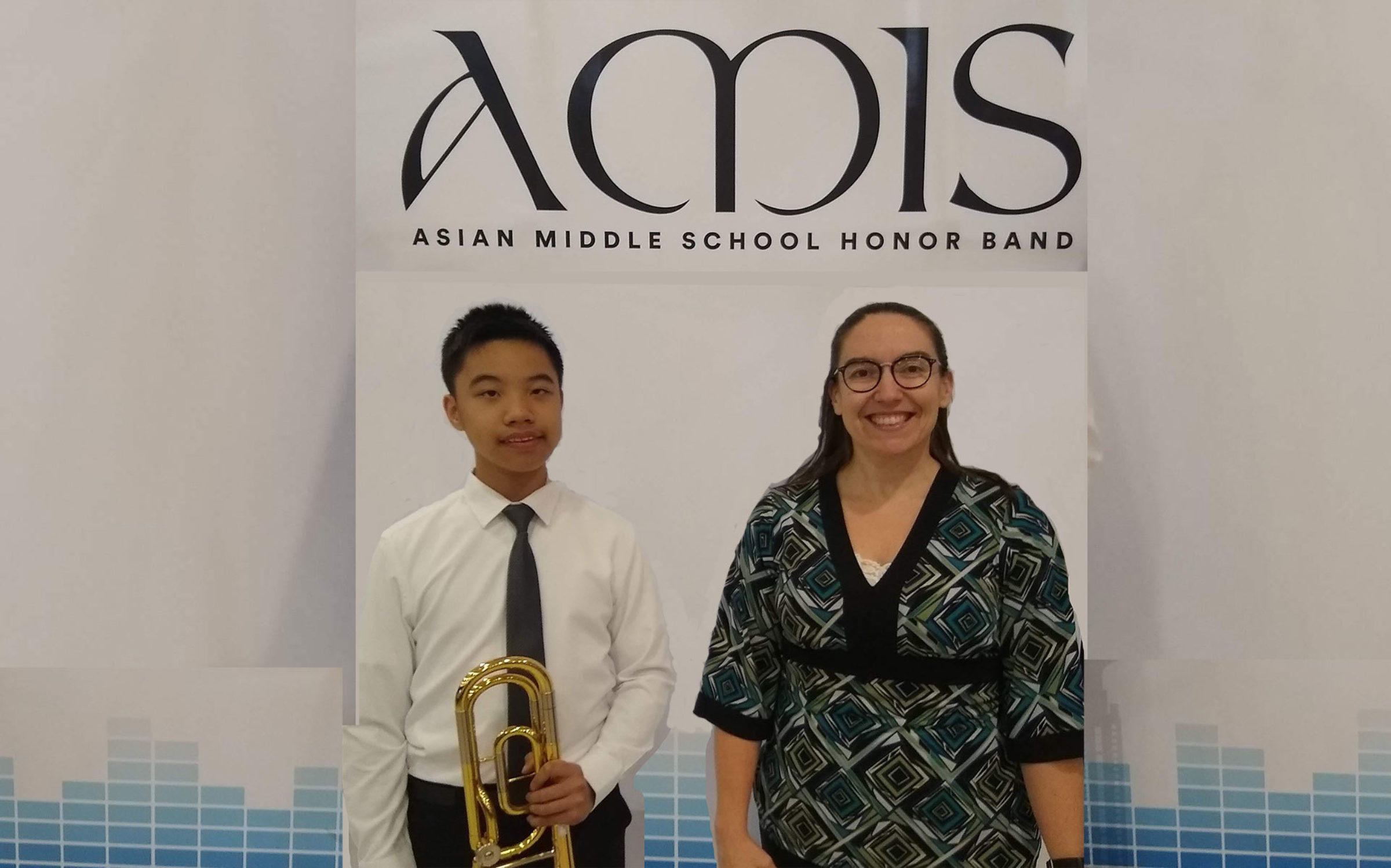 MS Band Member Earns Place in AMIS Honor Band Festival