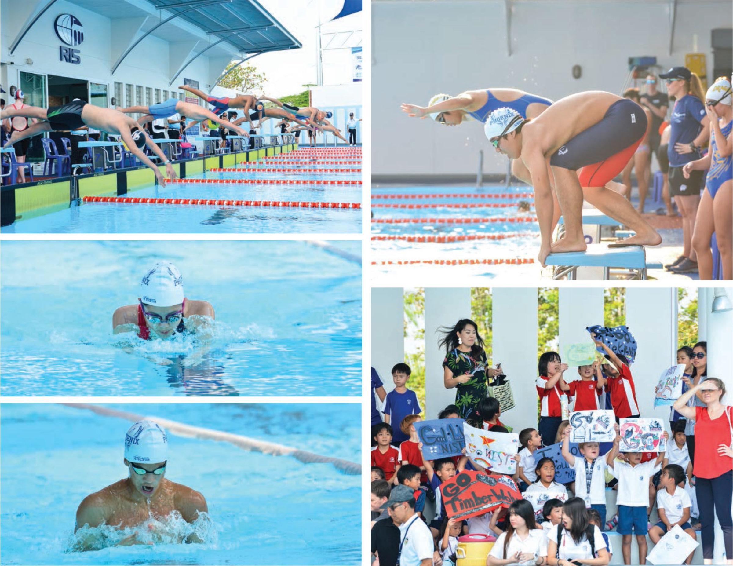 RIS Hosts SEASAC Swimming