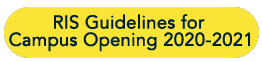 Ruamrudee International School guidelines for Campus opening 2020-2021